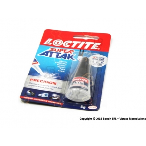 LOCTITE COLLA SUPER ATTAK TUBETTO 5 GRAMMI by HENKEL - 1 BLISTER 4,39 €