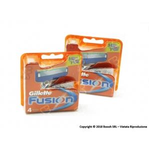 GILLETTE RICAMBI FUSION RICARICA - 1 BLISTER DA 4 TESTINE 10,89€