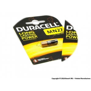 DURACELL MN27 ALCALINE 12V/B - BLISTER DA 1 BATTERIA 0,99€