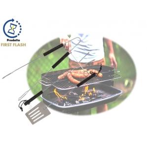 SET DA 3 POSATE PER GRIGLIA - BBQ - GRILL 10,69€