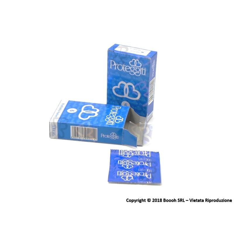 PROTEGGITI PROFILATTICI NATURE CLASSICO - ASTUCCIO DA 6 PRESERVATIVI 1,55€