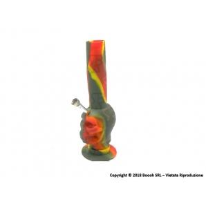 BONG IN SILICONE 26cm RASTA SKULL - 1 PEZZO 16,89€