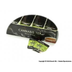 TEA AROMATIZZATO CANNABIS NO THC - CONFEZIONE DA 10 BUSTINE 4,99€