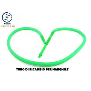 TUBO DI RICAMBIO IN SILICONE PER NARGHILE' - COLORE VERDE | LUNGHEZZA 180CM 19,89€