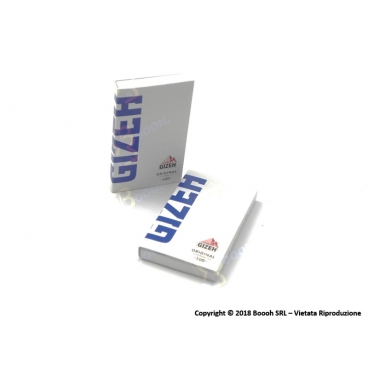 GIZEH CARTINE CORTE DOPPIE SUPERFINE LIBRETTO MAGNETICO ORIGINAL BLU - 1 LIBRETTO DA 100 CARTINE