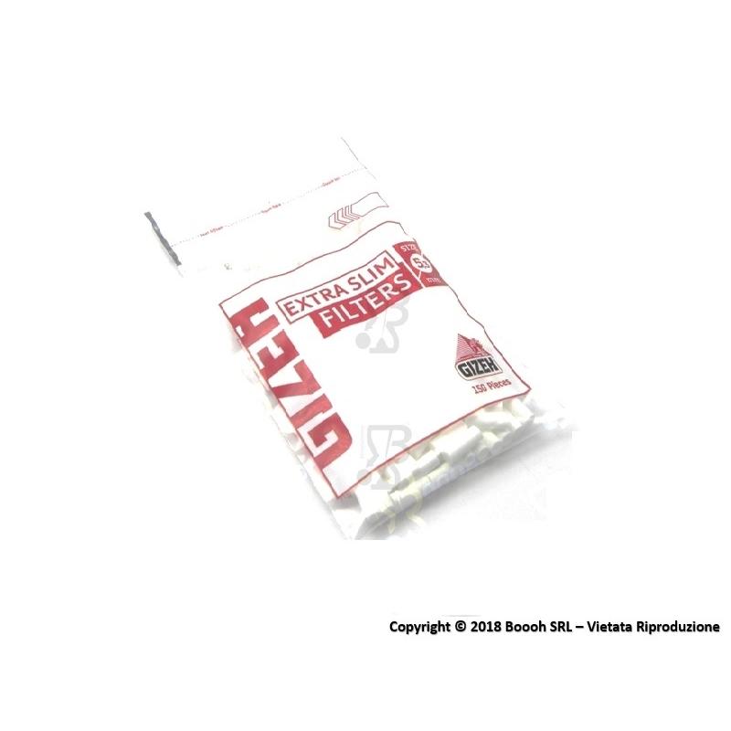 GIZEH FILTRI EXTRA SLIM 5,3MM - 1 BUSTINA DA 150 FILTRI 0,71€