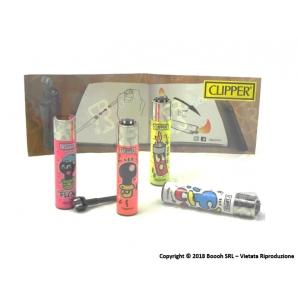 CLIPPER LARGE CIUCCIO - 4 ACCENDINI SFUSI 2,69€