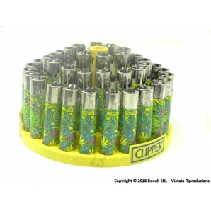 CLIPPER LARGE PSY COOL LEAVES - BOX DA 48 ACCENDINI 28,99 €