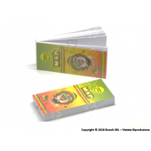 MAD4 RASTA FRIENDS FILTRI IN CARTA - 1 BLOCCHETTO DA 33 FILTRI 0,18 €