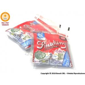SMOKING FILTRI SLIM 6MM - 1 BUSTINA DA 120 FILTRINI LISCI 0,63€