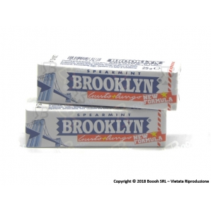 BROOKLYN SPEARMINT CHEWING GUM - 1 STICK 0,79 €