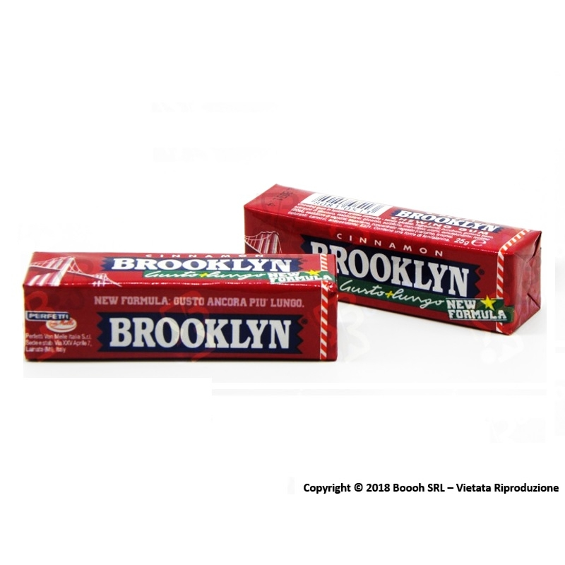 BROOKLYN CINNAMON CHEWING GUM - 1 STICK 0,69 €