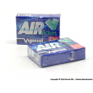 AIR ACTION VIGORSOL CHEWING GUM - 2 ASTUCCI 1,69 €