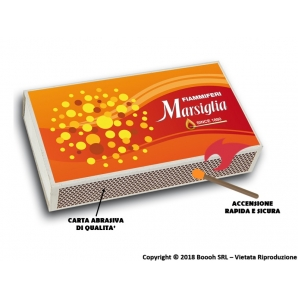 FIAMMIFERI FAMILIARI MAXI BOX MARSIGLIA | SCATOLETTA DA 250 O BOX INTERO 1,49€