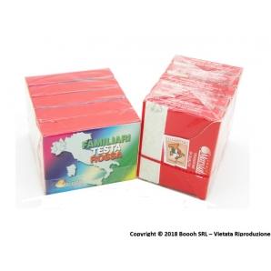 FIAMMIFERI FAMILIARI MARSIGLIA - TESTA ROSSA | SCATOLETTA O BOX 0,49€