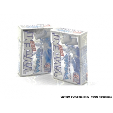 GOMME DA MASTICARE VIVIDENT XYLIT WHITE PEPPERMINT CHEWING GUM - ASTUCCI SFUSI
