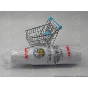 BICCHIERI ACQUA 200 cc ARISTEA IN PLASTICA - 1 CONFEZIONE DA 50 BICCHIERI 1,99€