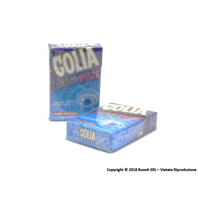 GOLIA ACTIV PLUS CARAMELLE SENZA ZUCCHERO - 2 ASTUCCI O CONFEZIONE COMPLETA 1,69€