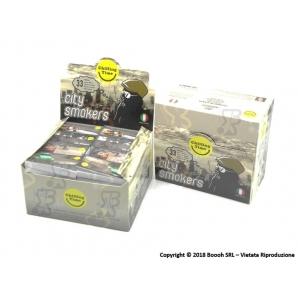 FILTRI IN CARTA MAD4 CITY SMOKERS - BOX DA 80 BLOCCHETTI 10,77 €