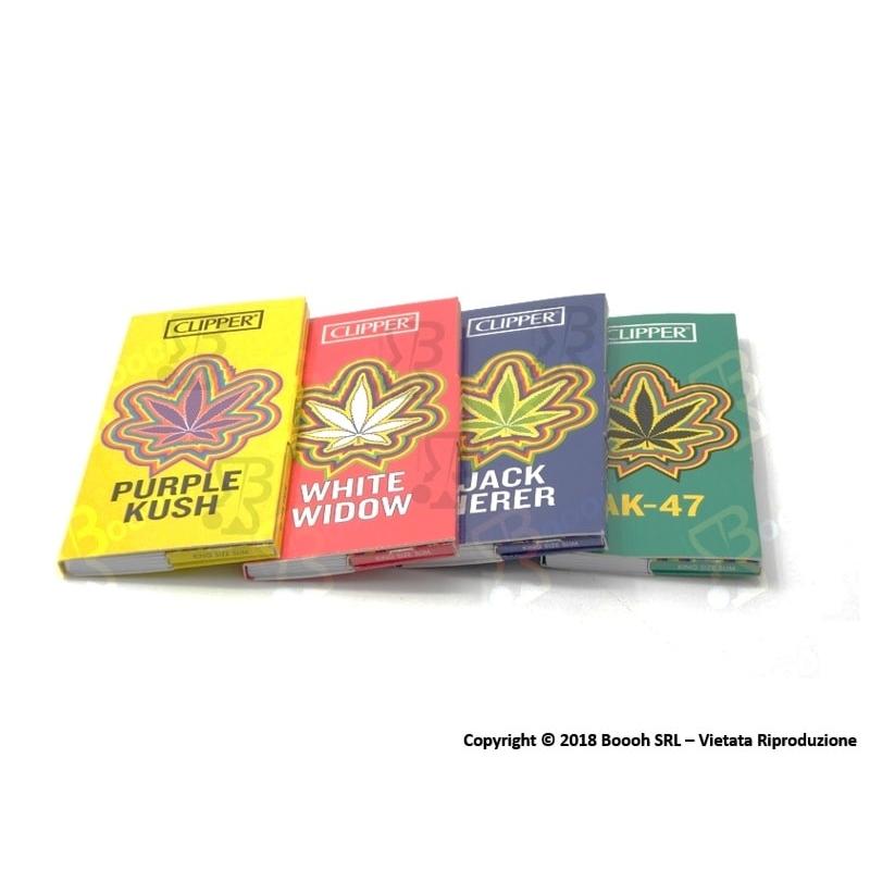 CLIPPER CARTINE LUNGHE KSS + FILTRI CARTA PREMIUM WEED TEAM - 4 LIBRETTI SFUSI 9,36€