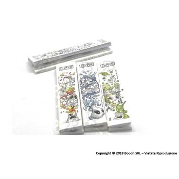 CLIPPER CARTINE LUNGHE KSS + FILTRI CARTA FANTASIA SIMPLE ART OF SOOL KSS - 4 LIBRETTI SFUSI