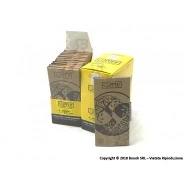 CLIPPER CARTINE LUNGHE KSS PREMIUM PURE TREE LIFE + FILTRI CARTA - BOX DA 12 LIBRETTI