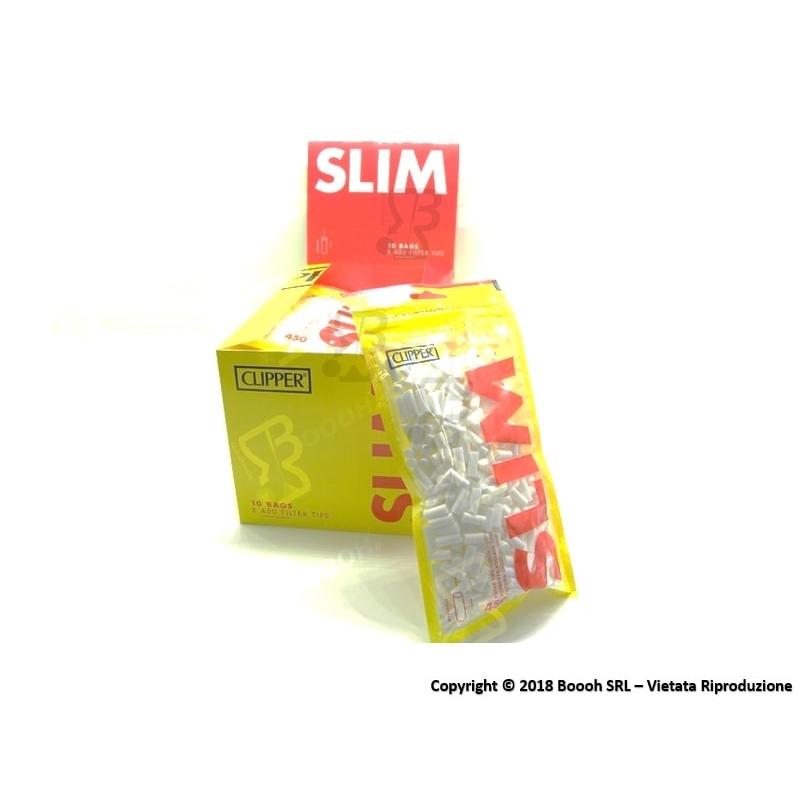 CLIPPER FILTRI LISCI SLIM 6MM - BOX 10 BUSTINE DA 450 FILTRI 15,67€