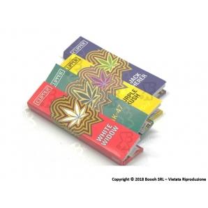 CLIPPER CARTINE LUNGHE KSS + FILTRI CARTA SIMPLE WEED TEAM KSS - 4 LIBRETTI SFUSI 5,99€