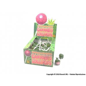 LOLLIPOPS GUSTO CANDY CRUSH ZUCCHERO FILATO CON AROMA CANNABIS (NO THC) - 5 LOLLIPOPS 3,24 €