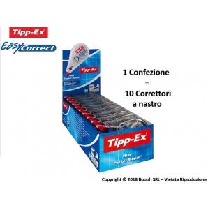 CORRETTORE A NASTRO TIPP-EX FORMATO POCKET MINI MOUSE - BIANCHETTO TASCABILE | 1 PEZZO O BOX CONFEZIONE DA 10 PEZZI 2,99€