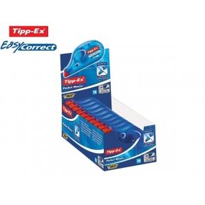 TIPP-EX POCKET MOUSE CORRETTORE A NASTRO - BIANCHETTO TASCABILE | 1 PEZZO O BOX CONFEZIONE DA 10 PEZZI 2,99€