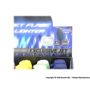 ATOMIC ACCENDINI TURBO ANTIVENTO JET FLAME ''ROCKET'' - 1 BOX DA 20 ACCENDINI 29,90 €