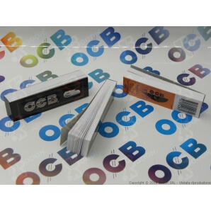 FILTRI IN CARTA OCB EASY BLACK - 1 BLOCCHETTO DA 50 FILTRI 0,29 €