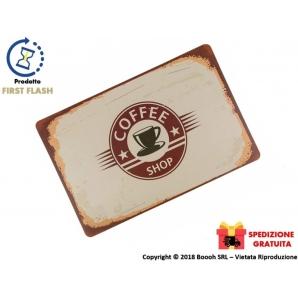 TOVAGLIA TAPPETINO ALL'AMERICANA SET DA TAVOLO - FANTASIA COFFE SHOP IN PLASTICA LAVABILE | SPEDIZIONE GRATUITA 6,99€
