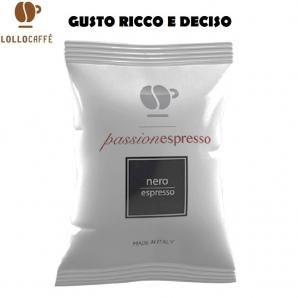 100 CAPSULE LOLLO CAFFE' PASSIONESPRESSO MISCELA NERA - COMPATIBILI SISTEMI NESPRESSO 18,99€