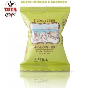 50 CAPSULE TO.DA CAFFE' IL MIO GATTOPARDO QUALITA' INSONNIA - COMPATIBILI SISTEMI NESPRESSO 8,49€