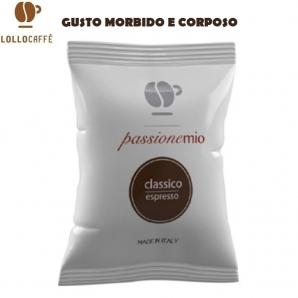 100 CAPSULE LOLLO CAFFE' PASSIONEMIO QUALITA' AROMA CLASSICO - COMPATIBILI SISTEMI LAVAZZA A MODO MIO 18,99€