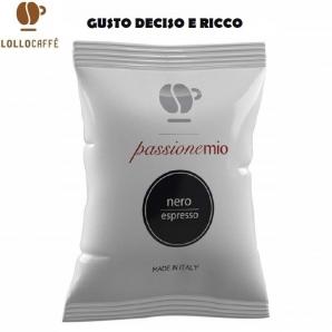 100 CAPSULE LOLLO CAFFE' PASSIONEMIO QUALITA' NERA - COMPATIBILI SISTEMI LAVAZZA A MODO MIO 17,99€