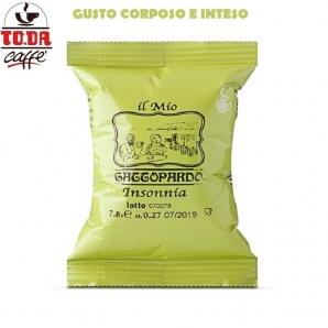 50 CAPSULE TO.DA CAFFE' IL MIO GATTOPARDO QUALITA' INSONNIA - COMPATIBILI SISTEMI LAVAZZA A MODO MIO 8,49€