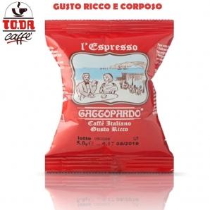 50 CAPSULE TO.DA CAFFE' IL MIO GATTOPARDO QUALITA' GUSTO RICCO - COMPATIBILI MACCHINETTE SISTEMI NESPRESSO 8,99€