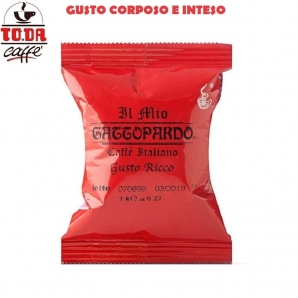 50 CAPSULE TO.DA CAFFE' IL MIO GATTOPARDO QUALITA' GUSTO RICCO - COMPATIBILI SISTEMI LAVAZZA A MODO MIO 8,99€