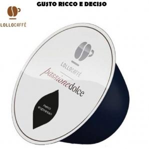 16 CAPSULE LOLLO CAFFE' PASSIONE DOLCE MISCELA NERA - COMPATIBILI SISTEMI NESCAFE' DOLCE GUSTO 3,99€