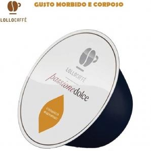 16 CAPSULE LOLLO CAFFE' PASSIONE DOLCE MISCELA CLASSICA - COMPATIBILI SISTEMI NESCAFE' DOLCE GUSTO 3,99€
