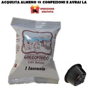 16 CAPSULE TO.DA CAFFE' GATTOPARDO MISCELA QUALITA' INSONNIA - COMPATIBILI MACCHINETTE SISTEMI NESCAFE' DOLCE GUSTO 3,99€