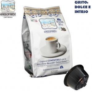 16 CAPSULE TO.DA CAFFE' GATTOPARDO MISCELA QUALITA' GUSTO BLU - COMPATIBILI SISTEMI NESCAFE' DOLCE GUSTO 3,99€