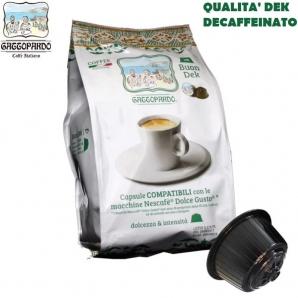 16 CAPSULE TO.DA CAFFE' GATTOPARDO MISCELA DEK QUALITA' DECAFFEINATO - COMPATIBILI SISTEMI NESCAFE' DOLCE GUSTO 3,99€