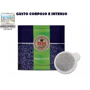 100 CIALDE IN CARTA TO.DA CAFFE' GATTOPARDO QUALITA' MISCELA INSONNIA - ESE 44MM 18,99€