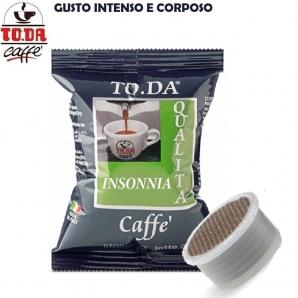 100 CAPSULE TO.DA CAFFE' GATTOPARDO QUALITA' MISCELA INSONNIA IDEA REGALO - COMPATIBILI SISTEMI LAVAZZA ESPRESSO POINT 16,99€