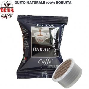 100 CAPSULE TO.DA CAFFE' GATTOPARDO QUALITA' MISCELA DAKAR - COMPATIBILI SISTEMI LAVAZZA ESPRESSO POINT 17,99€