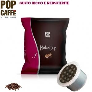 50 CAPSULE SIMFED POP CAFFE' - MOKA CUP MISCELA .1 INTENSO | COMPATIBILI CON SISTEMI UNO SYSTEM 9,99€